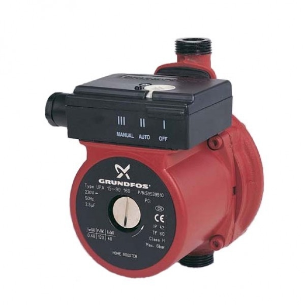 Grundfos Upa15 90n Home Booster Total Pump Solutions Ltd
